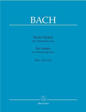 Bach, JS: Suites (6) for Cello (BWV 1007 - 1012) (Urtext)