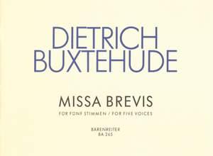 Buxtehude, D: Missa brevis