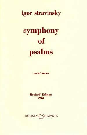 Stravinsky, I: Symphony of Psalms Product Image