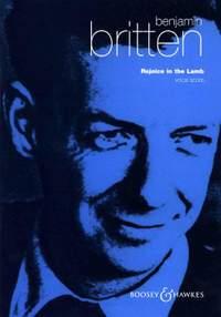 Britten, B: Rejoice in the Lamb op. 30