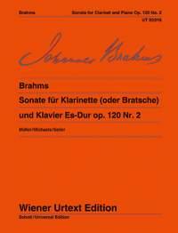 Brahms, J: Sonata Eb major op. 120/2