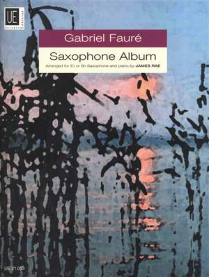 Fauré: Saxophone Album (alto sax/piano)