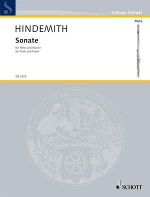 Hindemith, P: Flute Sonata