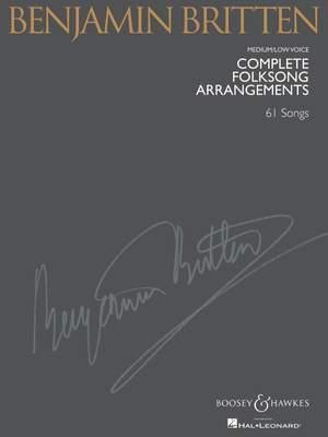 Britten, B: Complete Folksong Arrangements Product Image