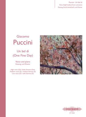 Puccini: Un bel di vedremo (One fine day) from Madama Butterfly