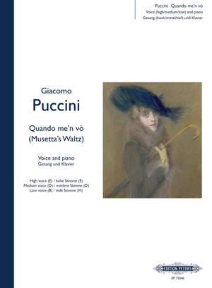 Puccini: Quando m'en vo (Musetta's Waltz Song) from La Bohème