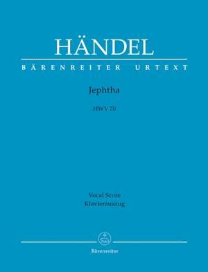 Handel, GF: Jephtha (HWV 70) (E) (Urtext)