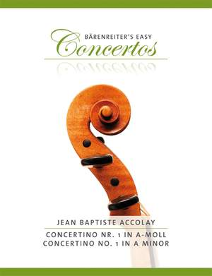 Accolay, JB: Concerto No.1 for Violin in A minor