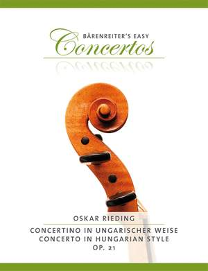 Rieding, O: Concertino in Hungarian Style for Violin, Op.21
