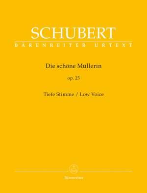 Schubert, F: Die schoene Muellerin, Op.25 (Urtext)