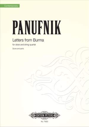Panufnik, R: Letters from Burma