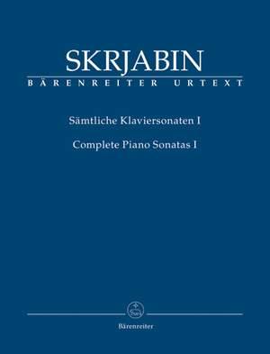 Skrjabin, A: Piano Sonatas (complete), Vol.I (Nos. 1-3; 2 Early Sonatas) (Urtext) Product Image
