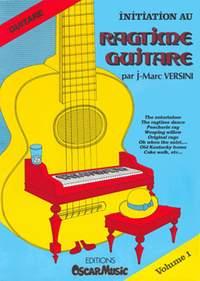 Versini, Jean-Marc: Ragtime Guitare