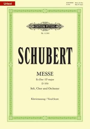 Schubert: Mass in Eb major D950