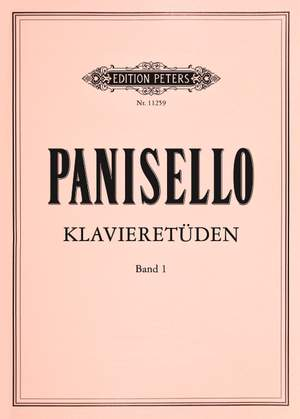 Panisello, Fabián: Piano Studies Book 1