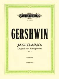 Gershwin, G: Jazz Classics for Piano Solo, Volume 1