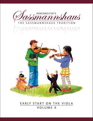 Sassmannshaus, E: Early Start on the Viola, Volume 4 (E)