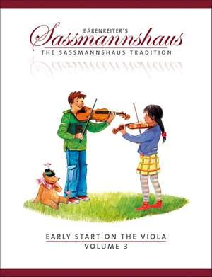 Sassmannshaus, E: Early Start on the Viola, Volume 3 (E)