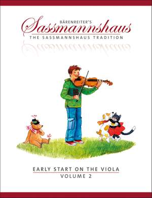 Sassmannshaus, E: Early Start on the Viola, Volume 2 (E)