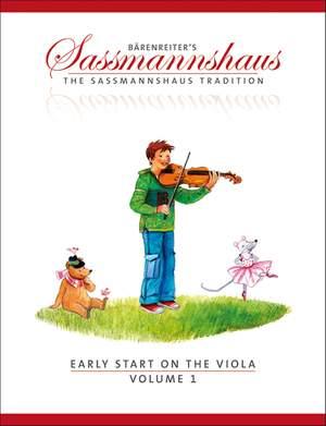 Sassmannshaus, E: Early Start on the Viola, Volume 1 (E)