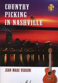 Versini, Jean-Marc: Country Picking in Nashville (guitar/CD)