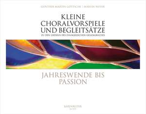 Various: Kleine Choralvorspiele Jahreswende