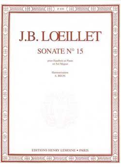 Loeillet, Jean-Baptiste: Sonata (oboe and piano)