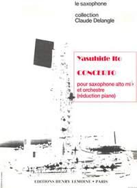 Ito, Yasuhide: Concerto (saxophone and piano)