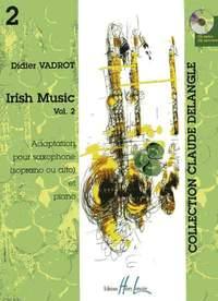 Vadrot, Didier: Irish Music Vol.2 (saxophone/CD)