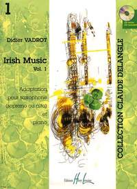 Vadrot, Didier: Irish Music Vol.1 (saxophone/CD)