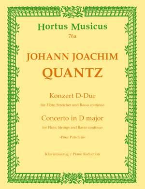 Quantz, J: Concerto for Flute in D (Pour Potsdam)