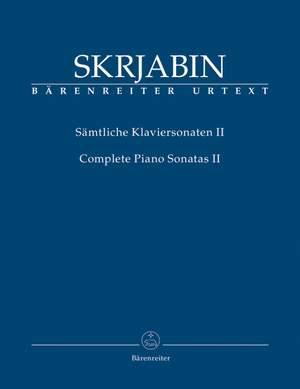 Skrjabin, A: Piano Sonatas (complete), Vol.II (Nos. 4 and 5) (Urtext) Product Image