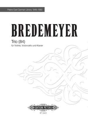 Bredemeyer, Reiner: Trio (84)