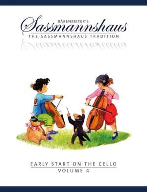 Sassmannshaus, E: Early Start on the Cello, Volume 4 (E)