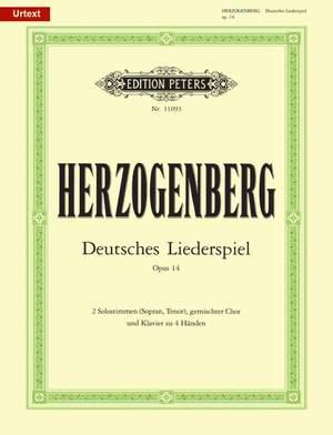 Herzogenberg, H: Deutsches Liederspiel Op.14