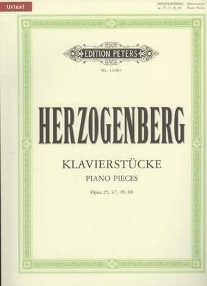Herzogenberg, H: Piano Pieces Opp.25, 37, 49 & 68