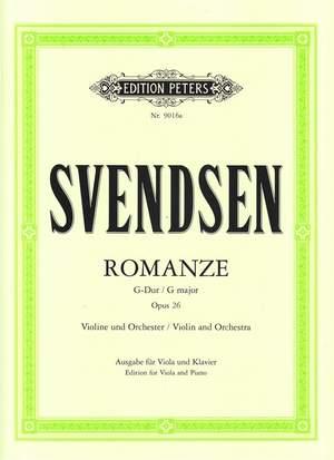 Svendsen, J: Romance in G Op.26