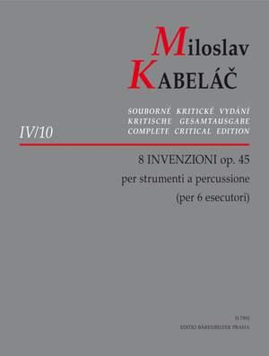Kabelac, M: Invenzioni (8), Op.45