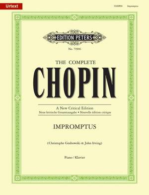Chopin: Impromptus (New Critical Edition) Product Image