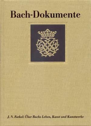 Bach J.S: Bach - Dokumente (G).