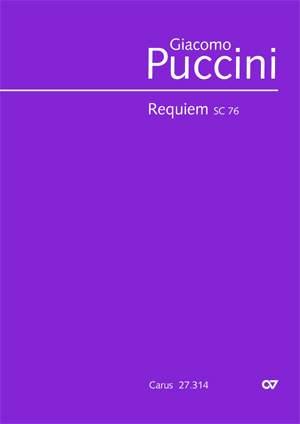 Puccini: Requiem SC76 (Crit.Ed.)