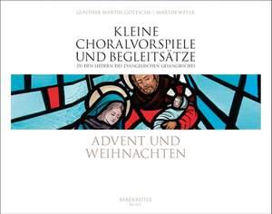 Various Composers: Kleine Choralvorspiele und Begleitsaetze. Advent und Weihnachten