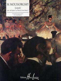 Mussorgsky, Modest: Gopak extrait de La Foire de Sorochintsy