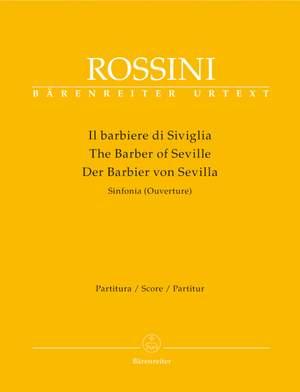 Rossini, G: Barber of Seville, The (Overture) (Urtext)