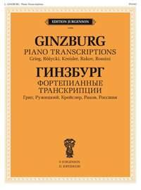 Ginzburg: Piano Transcriptions