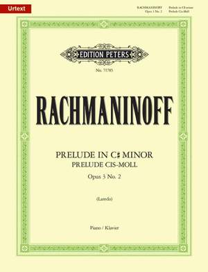 Rachmaninov: Prelude in C# minor Op.3 No.2