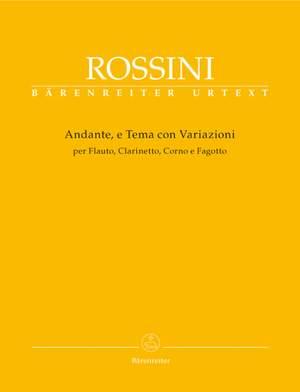 Rossini, G: Andante, e Tema con Variazioni (Urtext)