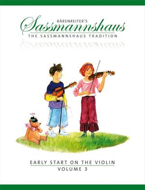Sassmannshaus, E: Early Start on the Violin, Volume 3 (E)