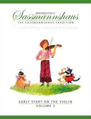 Sassmannshaus, E: Early Start on the Violin, Volume 2 (E)