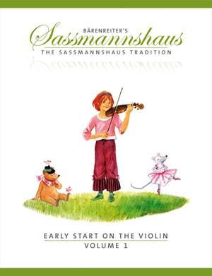 Sassmannshaus, E: Early Start on the Violin, Volume 1 (E)
